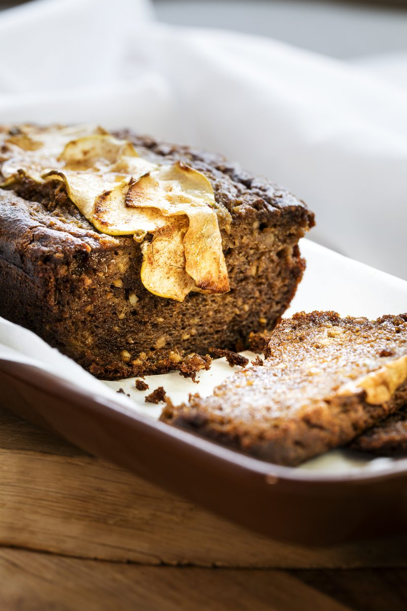 Amaranth Apple Bread