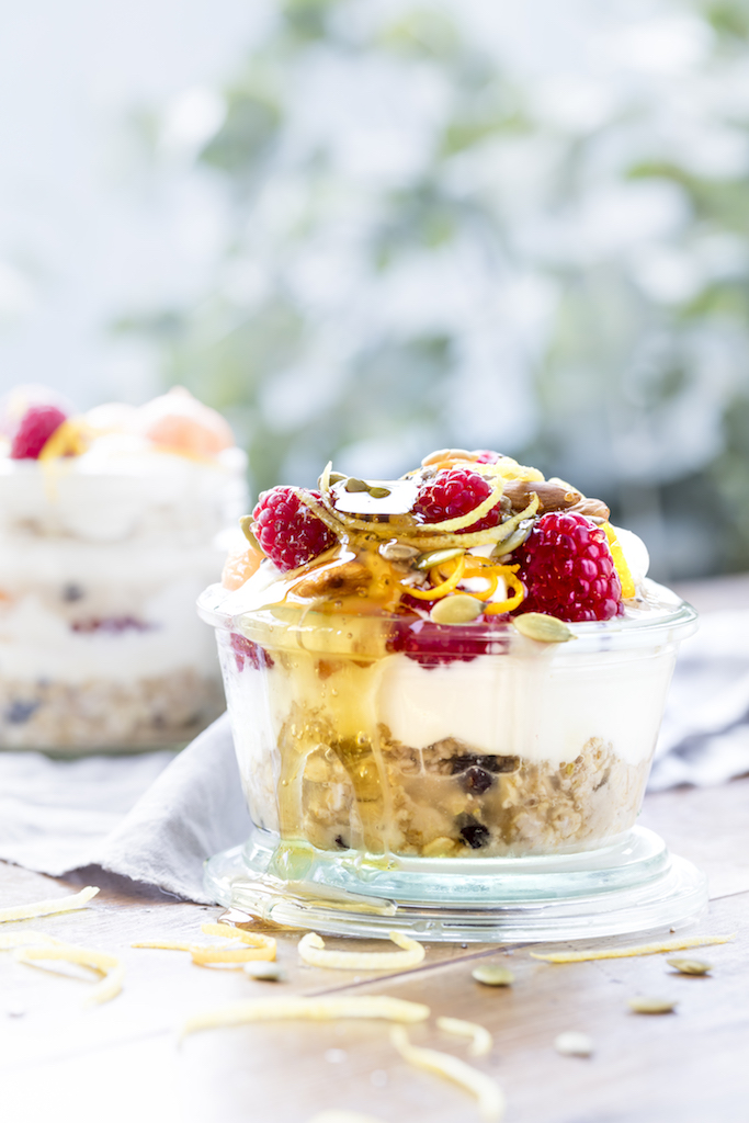 ANZAC Day Brunch: Whole food trifle!