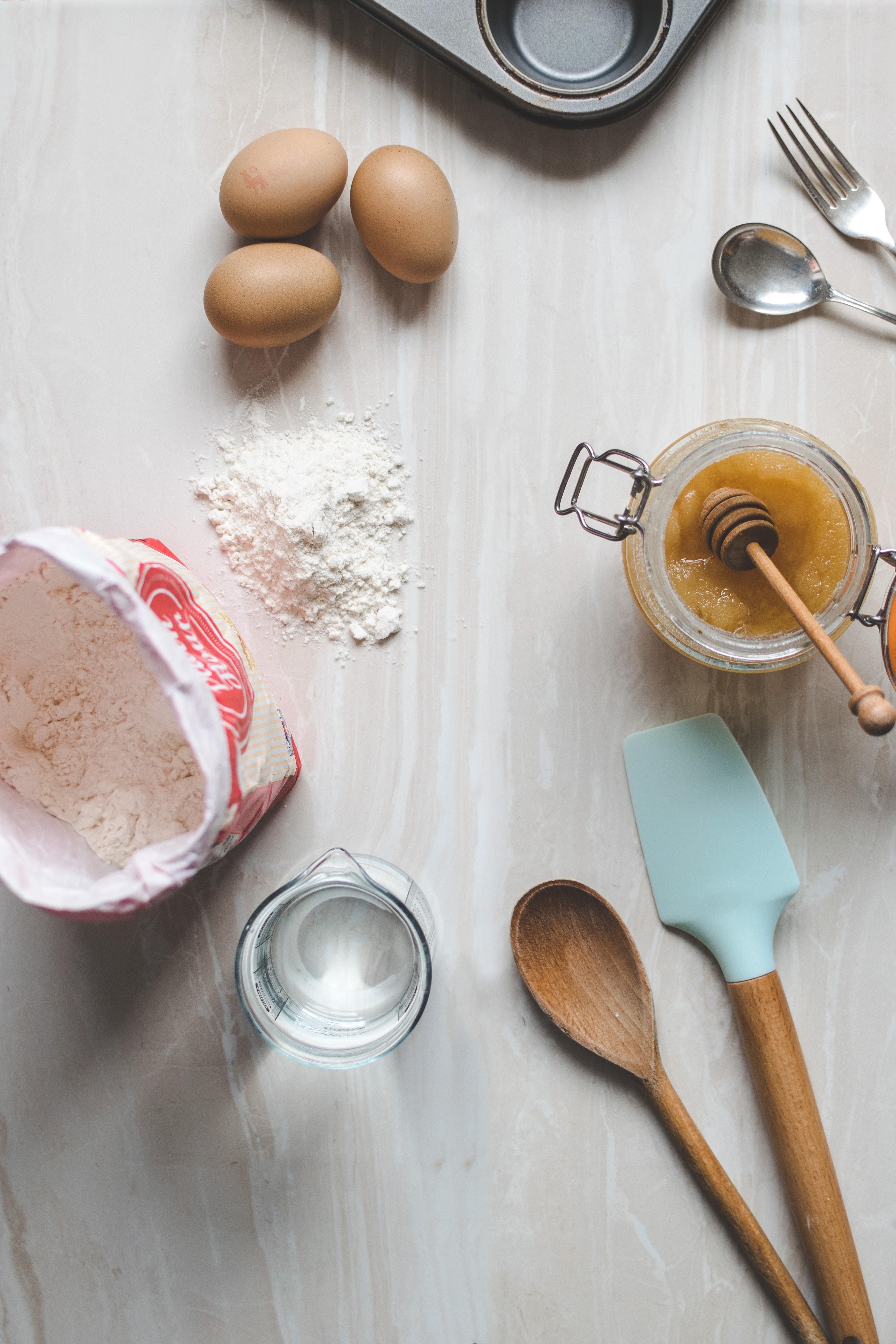 Rhubarb and Cashew Muffins – school holiday fun!